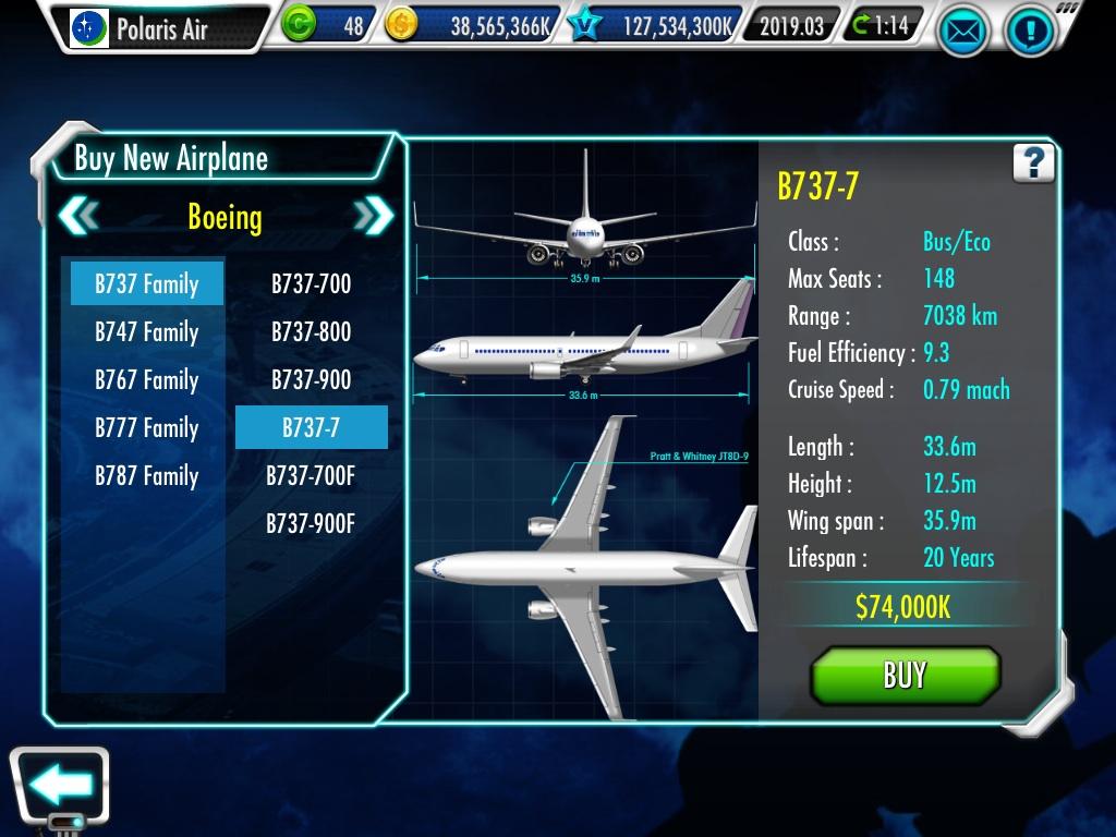 Boeing 737 | Air Tycoon Online Wiki | FANDOM powered by Wikia