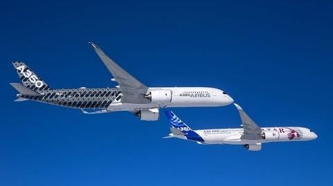 A350 XWB testing MSN2 and MSN4 take flight!