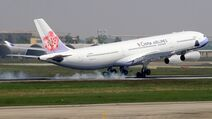 China-airlines-airbus-a340-300-landing