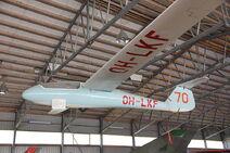 Fibera KK-1e Utu Karhulan ilmailukerhon lentomuseo