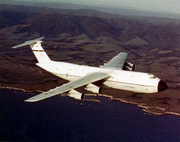 C-5A 75th MAS 60th MAW in flight