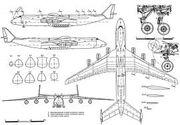 An-225 3d drawing