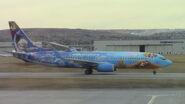 WestJet 737-800 Frozen Livery