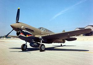 300px-Curtiss P-40E Warhawk 2 USAF-1-