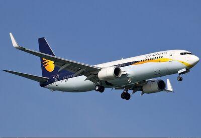 Jet Airways Boeing 737-800 Spijkers