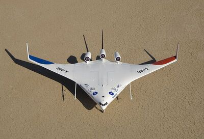 800px-X-48B from above