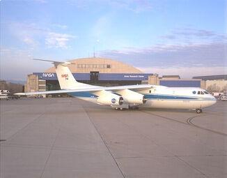 C-141 KAO on ramp