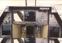 800px-Lockheed-Boeing-General Dynamics YF-22 Raptor cockpit 3 USAF