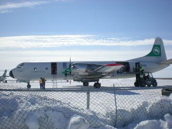 Buffalo Airways Lockheed L-188 Electra C-FBAQ