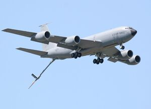 KC-135 Stratotanker Aerial Refueling Aircraft