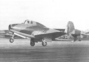 Gloster E28-39 first prototype