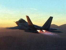 F-22 Flug Nachbrenner-1-