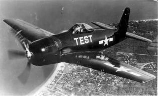 F8F Bearcat (flying)