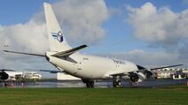 ZK-PAK Parcelair 737-400F Auckland