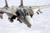 F-14 Tomcat preparing to refuel