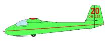 PIK-3c Kajava drawing