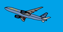 BlueStar airlines Boeing 777-222