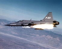 756px-F-20 firing a missile