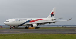Malaysian Airlines A330-223 9M-MTV.