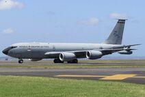 RSAF KC-135R 752 NZAA 2018