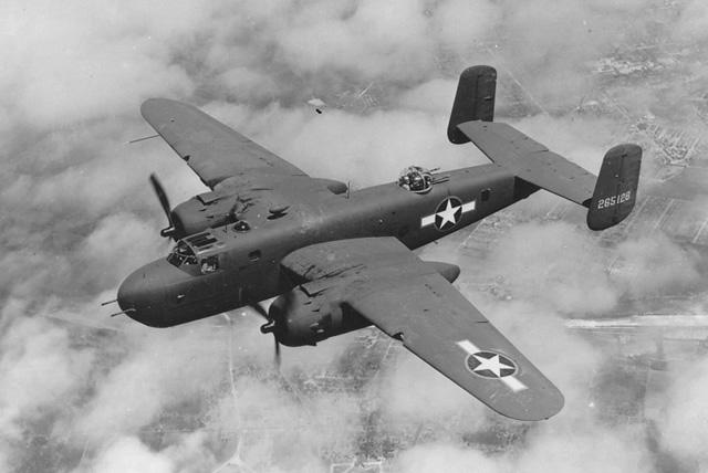 North American B-25 Mitchell ile ilgili görsel sonucu