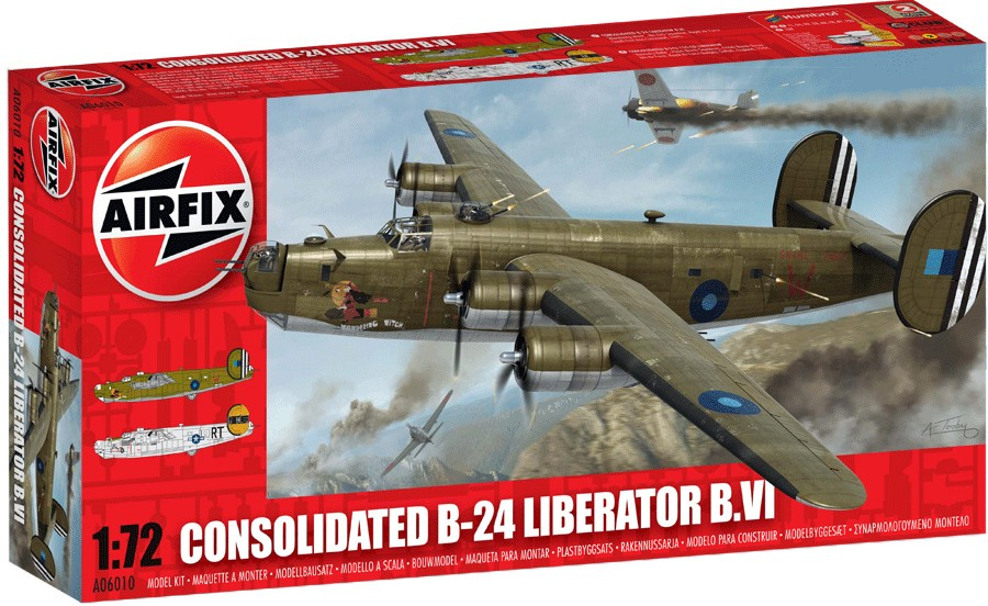 Consolidated B-24 Liberator | Airfix Wiki | FANDOM powered