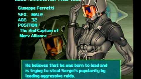 Air Force Delta Strike Character Profile-Giuseppe Ferretti
