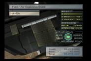 A-5A FAE Bombs