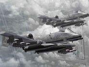 A-10A AFD Storm Wallpaper 1