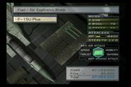 F-15U Plus FAE Bombs