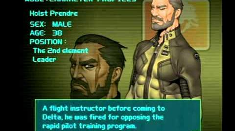 Air Force Delta Strike Character Profile-Holst Prendre