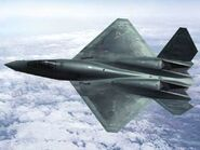 YF-23A AFD Storm Wallpaper 2