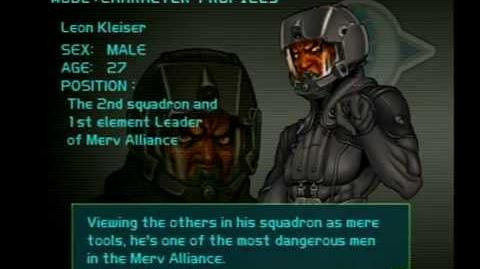 Air Force Delta Strike Character Profile-Leon Kleiser