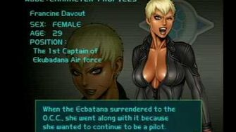Air Force Delta Strike Character Profile-Francine Davout