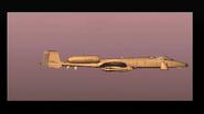 E.D.A.F. A-10A lacks emblem