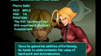Air Force Delta Strike Character Profile-Pierre Gallo