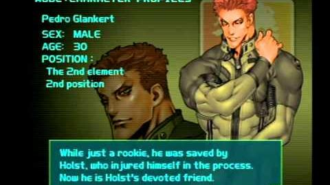 Air Force Delta Strike Character Profile-Pedro Glankert