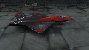 YF-23 BW Livery