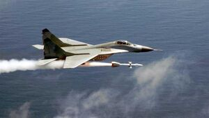 MiG-29 Launches Missile