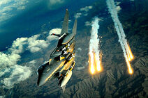 F-15E In Action