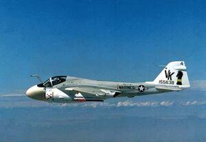 A-6E In Flight