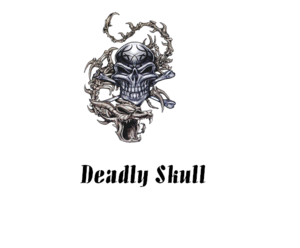 Deadly Skull Coporation Logo
