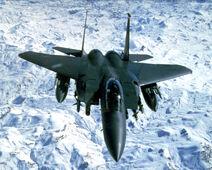 F-15E In Flight