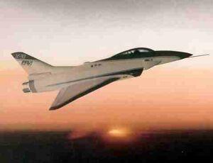 X-31 In Flight