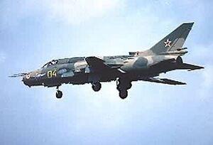 Su-17 In Flight