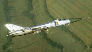 Su-15 In Flight