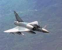 Mirage 2000 In Flight