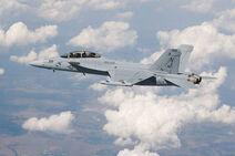 EA-18G Growler In Flight