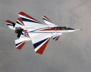 F-15 ACTIVE In Flight