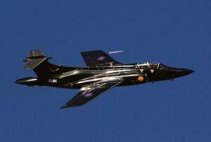 Buccaneer In Flight